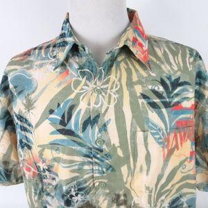 Territory Ahead XL S/S Hawaiian Shirt Floral